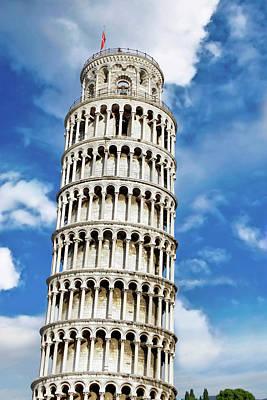 Bas Relief Photograph - Pisa, Italy, Tuscany, Piazza Dei by Miva Stock