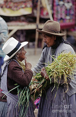Photograph - Pisac Sunday Market - Peruvian Andes by Craig Lovell