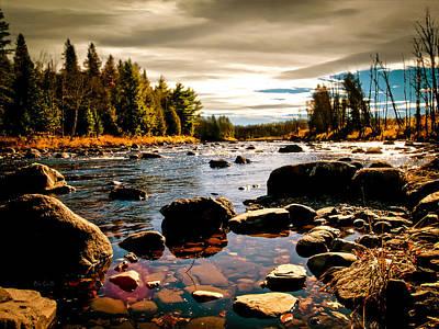 Piscataquis River Dover-foxcroft Maine Art Print by Bob Orsillo