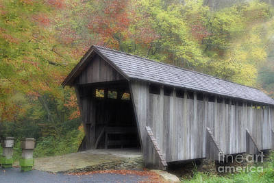 Photograph - Pisgah Covered Bridge by Karol Livote