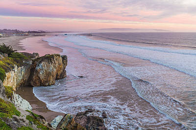 Sunset Photograph - Pismo State Beach At Sunset by David Madison