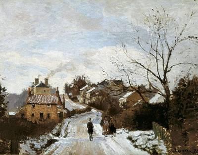 Pissarro, Camille 1830-1903. Fox Hill Art Print