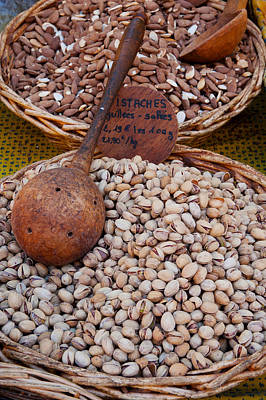 Dazur Photograph - Pistachios For Sale At Weekly Market by Panoramic Images