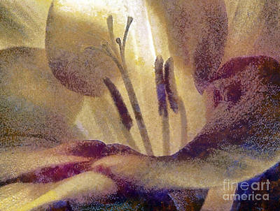 Czintos Abstract Painting - Pistils by Odon Czintos