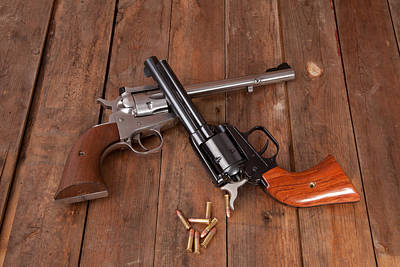 Photograph - Pistols by Scott Sanders