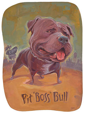 Pit Boss Bull Original by Shawn Shea