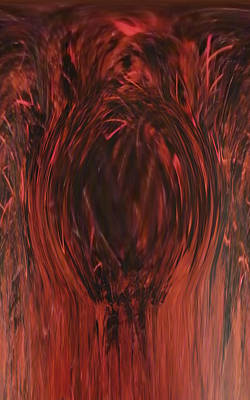Painting - Pit Of Fire by Alli Cullimore