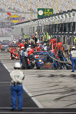 Official Watch Photograph - Pit Stop by Josh Balduf