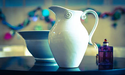 Photograph - Pitcher Bowl And Chrism by Ronda Broatch