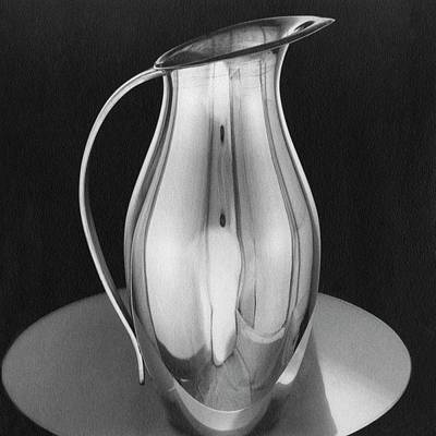 Tableware Photograph - Pitcher From Ovington's by Martinus Andersen