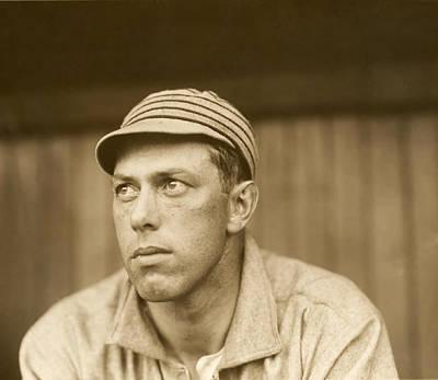 Philadelphia Athletics Photograph - Pitcher Jack Coombs - Philadelphia Athletics 1911 by Mountain Dreams
