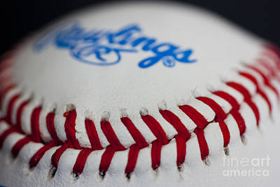 Rawlings Photograph - Pitchers And Catchers In 24 Days by David Bearden