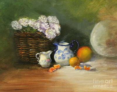 Pitchers And Peonies Original by Darnell Nicovich