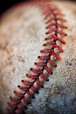 Photograph - Pitchers Stitches by Karol Livote