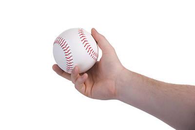 Photograph - Pitching Baseball by Marek Poplawski