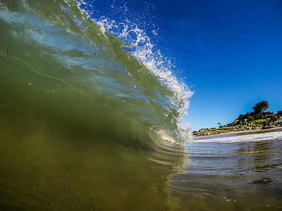 David Alexander Photograph - Pitching Wave by David Alexander