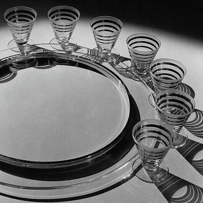 Pitt Petri Tableware Print by Dana B. Merrill