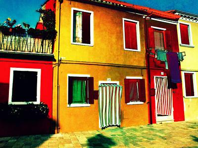 Pittoresco Villaggio Art Print