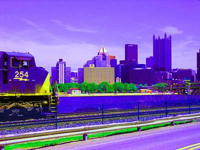 Pittsburg By Train Original