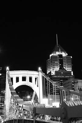 Pittsburgh Bridge Art Print by Josh Ebel