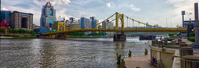 Photograph - Pittsburgh Clemente Bridge by C H Apperson