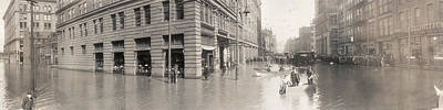Photograph - Pittsburgh Flood, 1907 by Granger