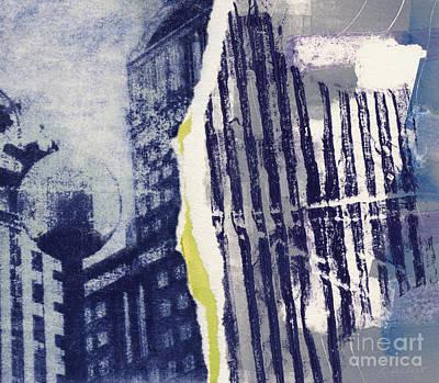 Printmaking Mixed Media - Pittsburgh by Kelley Albert
