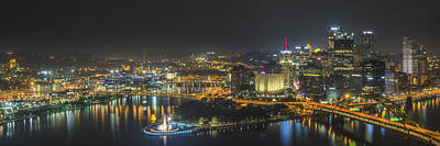 Rubber Duck Photograph - Pittsburgh Night by Brian Young