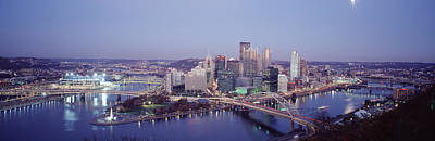 Downtown Pittsburgh Photograph - Pittsburgh Pa by Panoramic Images