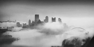 Pittsburgh Pano 8 Art Print by Emmanuel Panagiotakis