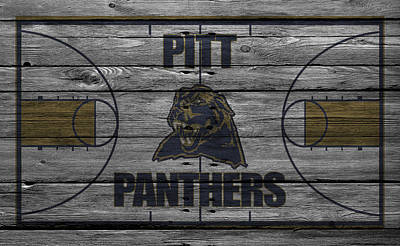 Pittsburgh Panthers Art Print by Joe Hamilton