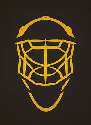 Pittsburgh Penguins Goalie Mask Art Print by Joe Hamilton