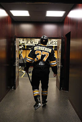 Photograph - Pittsburgh Penguins V Boston Bruins by Steve Babineau