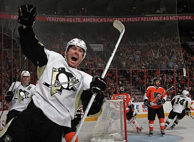 Photograph - Pittsburgh Penguins V Philadelphia by Bruce Bennett