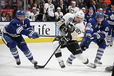 Photograph - Pittsburgh Penguins V Toronto Maple by Bruce Bennett