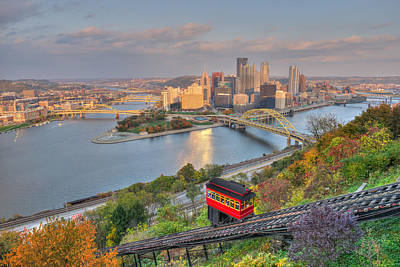 Pittsburgh  Print by Shane Mossman