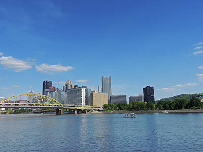 City Photograph - Pittsburgh Skyline From The North Shore by Cityscape Photography