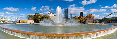 Photograph - Pittsburgh Skyline Pano 5 by Emmanuel Panagiotakis