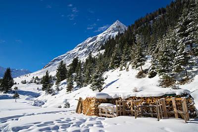 Photograph - Pitztal Austria - Winter Landscape by Matthias Hauser