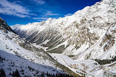Photograph - Pitztal Valley Tyrol Austria by Matthias Hauser