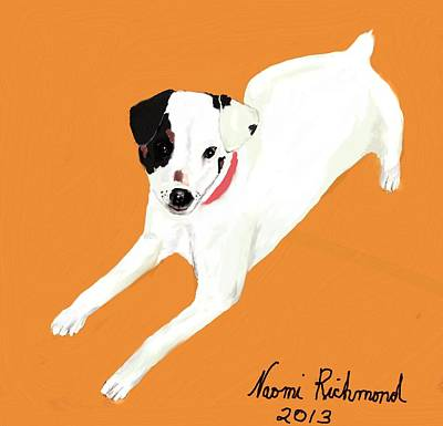 Fox Terrier Digital Art - Pixie Ann by Naomi Richmond