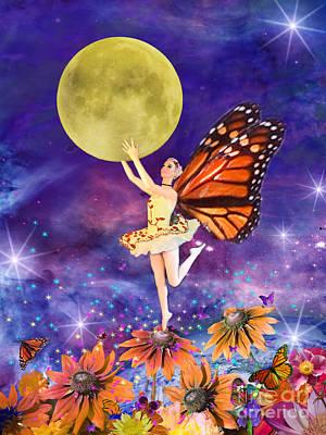 Pixie Ballerina Art Print by Alixandra Mullins