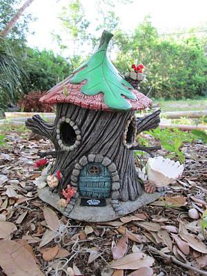 Pixie Beach House Bird Feeder Original by Bird House Hollows