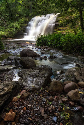 Waterfalls Photograph - Pixley Falls by Mark Papke