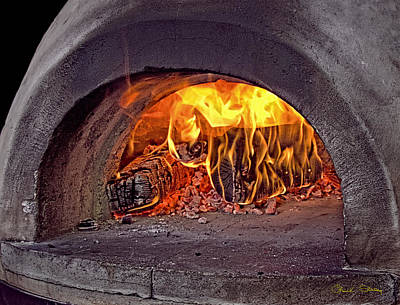 Photograph - Pizza Oven by Chuck Staley