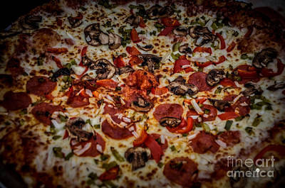 Photograph - Pizza by Ronald Grogan