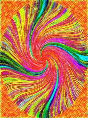 Digital Art - Pizzazz 43 by Will Borden
