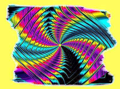 Digital Art - Pizzazz 50 by Will Borden