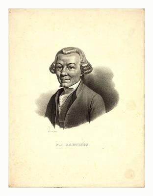 P.j. Barthez  Pigueron., Ca. 1800 Art Print by English School