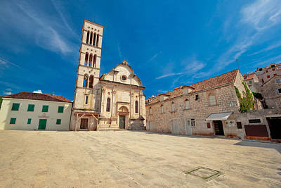 Photograph - Pjaca Square In Town Of Hvar by Brch Photography